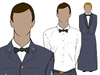 various Air Cadets Mess Dress No.5 by aircadetresource
