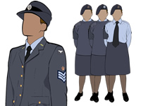 Various Female Air Cadet Uniform by aircadetresource