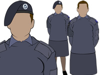 Working blue No.2 female Air Cadets Uniform by aircadetresource
