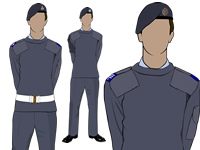 Air Cadets Male no.2 uniform by aircadetresource