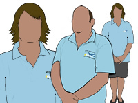 Air Cadet Civilian Instructor Illustration by aircadetresource