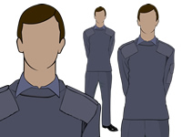Male Air Cadet Working Blue No.2 Uniform by aircadetresource