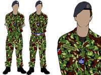 Male Air Cadet No.3 Combat Uniform by aircadetresource