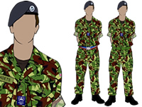Male Air Cadet No.3 Combat Uniform by aircadetresource