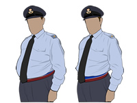 Male Air Cadet Officer Shirtsleeve No.2 Uniform by aircadetresource