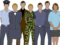 Various Air Cadet Uniforms by aircadetresource