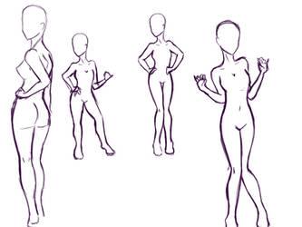 Sexy poses by NVMSodi