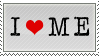 i :heart: me - stamp by BahiQ8-stock