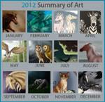 2012 Summary of Art by Follyfoot