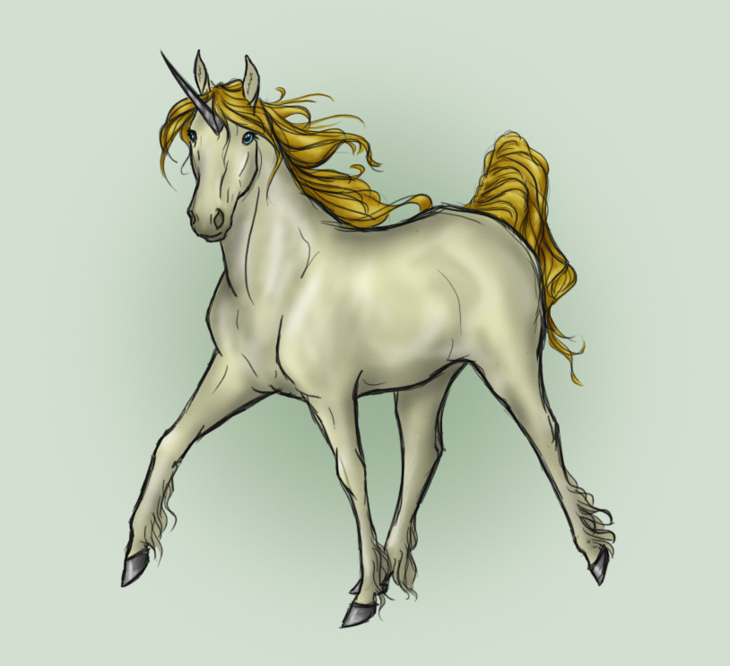 Request - Alvina Unicorn by Follyfoot