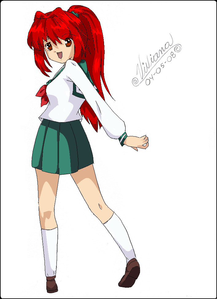 Kimiko color by cuine on deviantart for Cuine