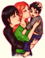 Ben 10: Happy Family by Cuine