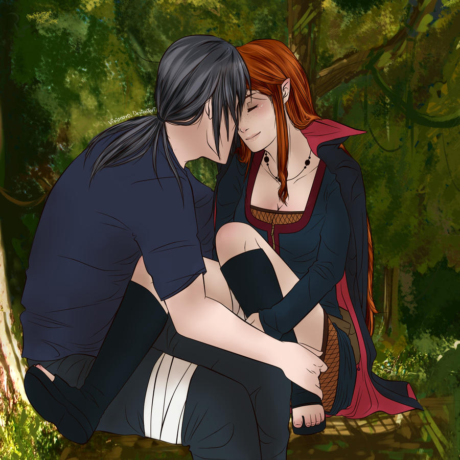 At itachixmina by cuine on deviantart for Cuine