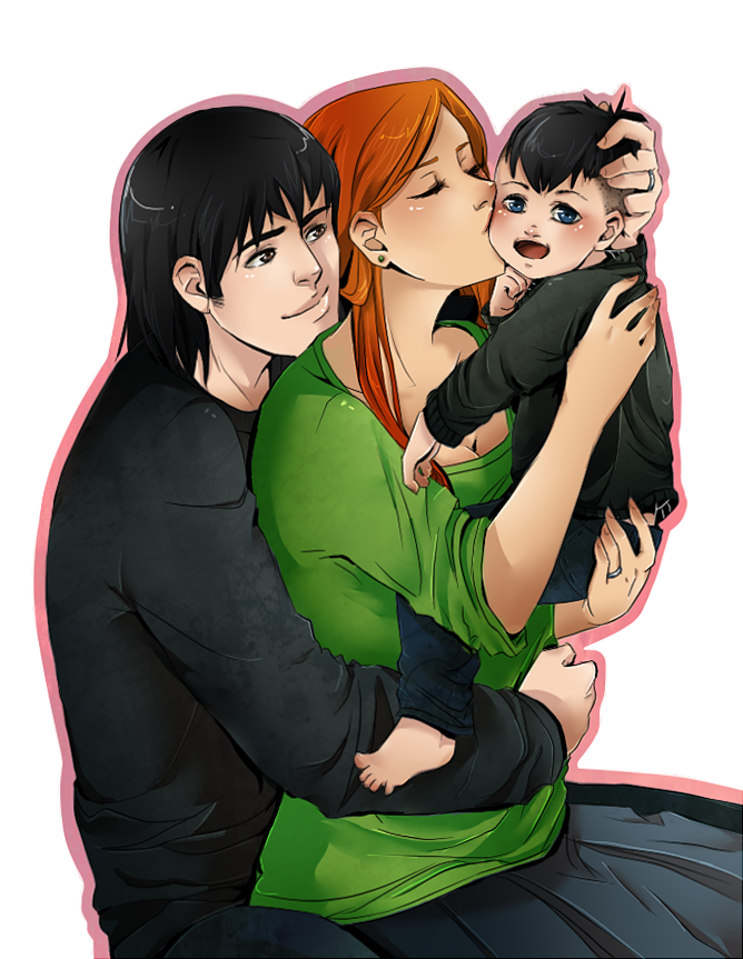Redraw happy family by cuine on deviantart for Cuine