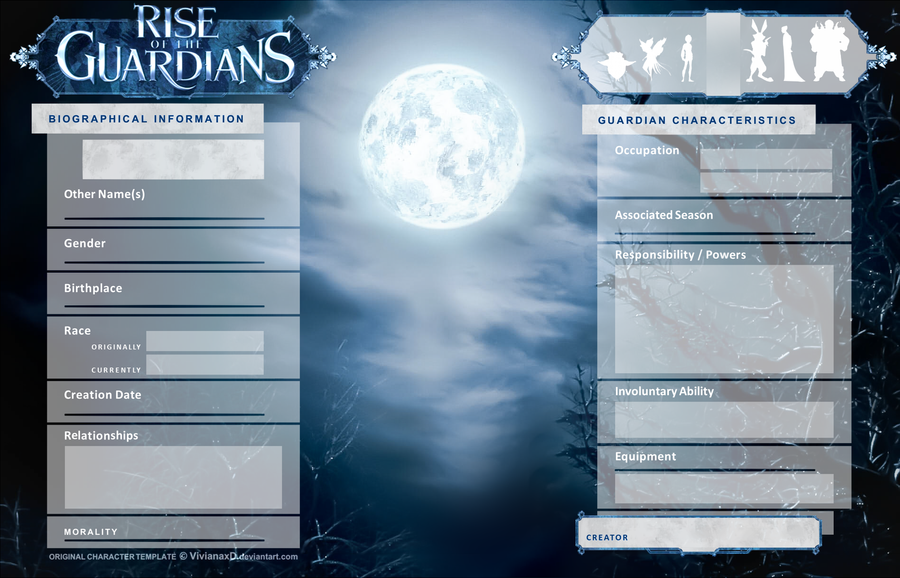 Character Sheet Template Rotg By Cuine On Deviantart