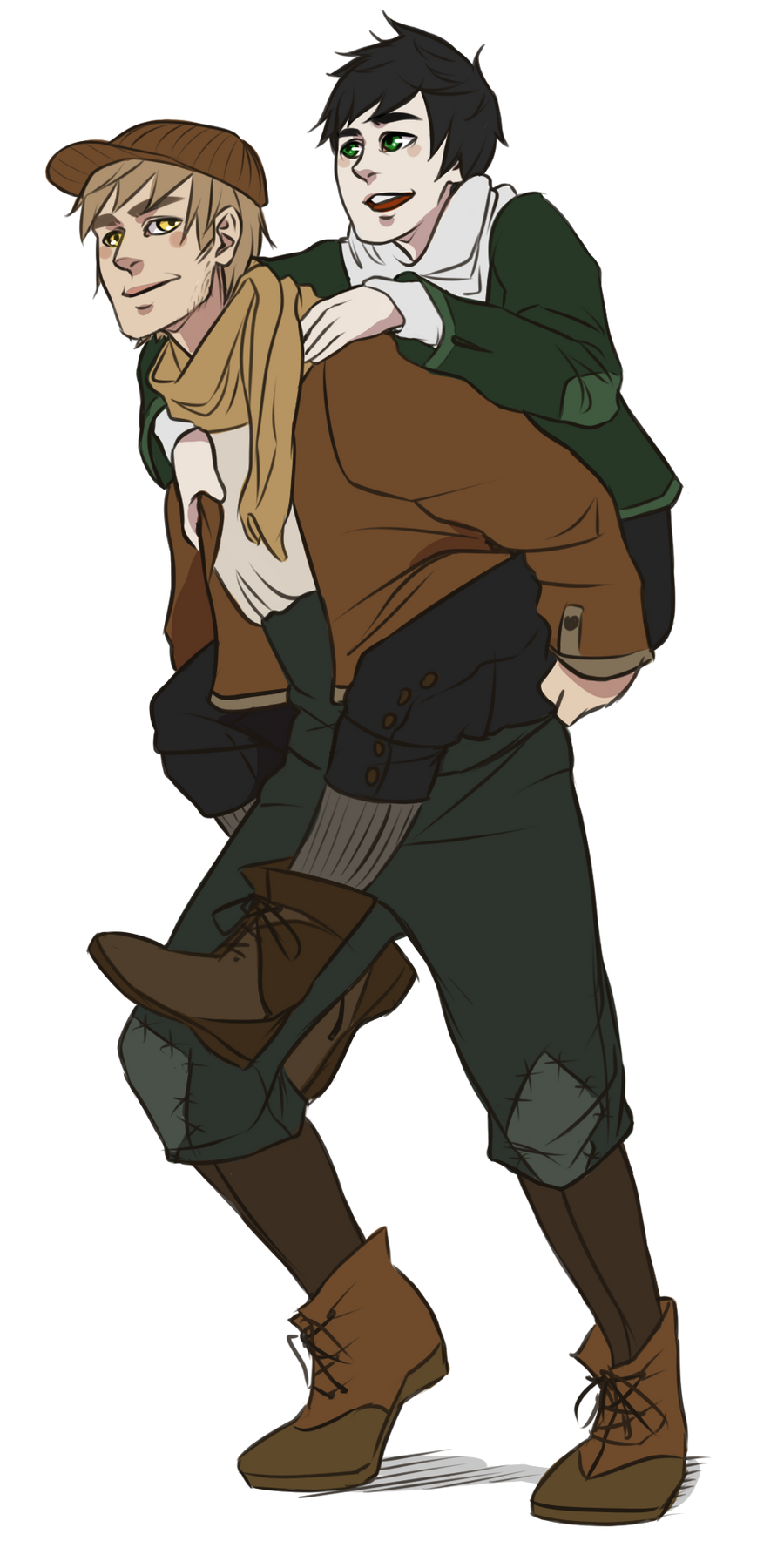 Khalan and mori by cuine on deviantart for Cuine