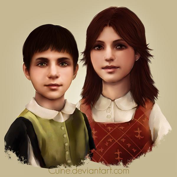 Analizando personajes: Flavia y Marcello Auditore