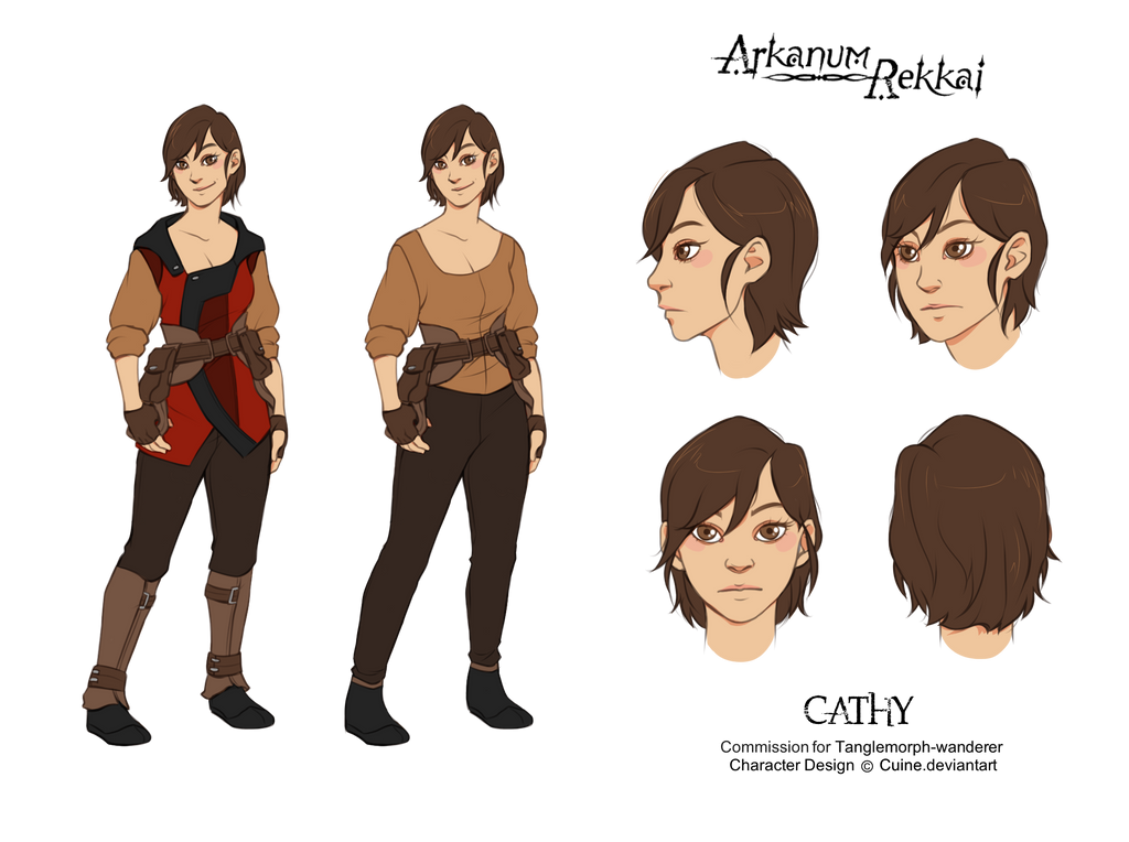 Character N Design : Character design cathy by cuine on deviantart