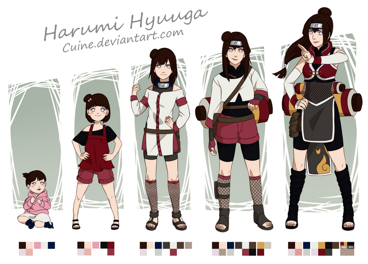Harumi hyuuga timeline by cuine on deviantart for Cuine