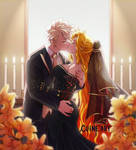 Ember and Bakugou - Commission
