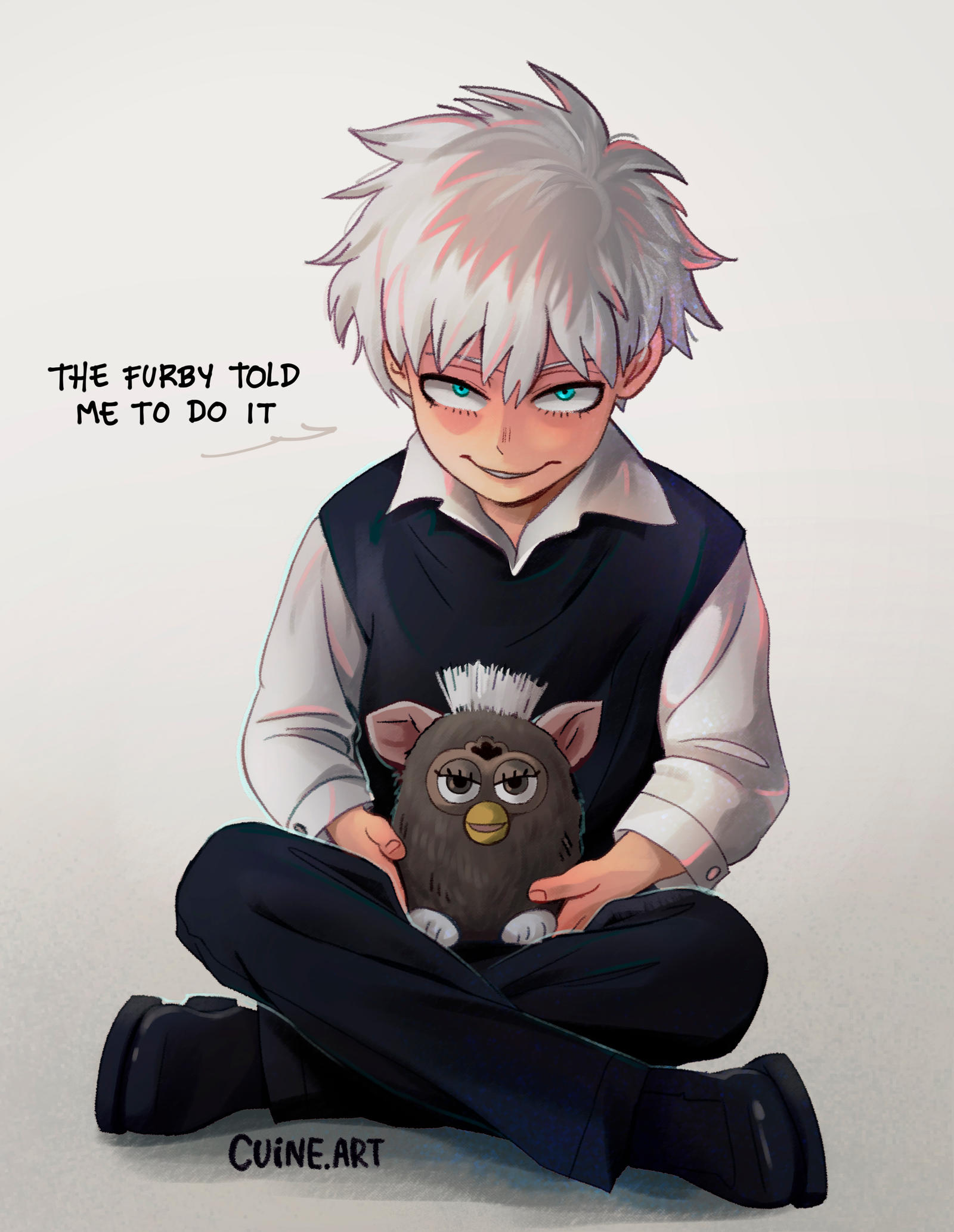 Touya and his friend