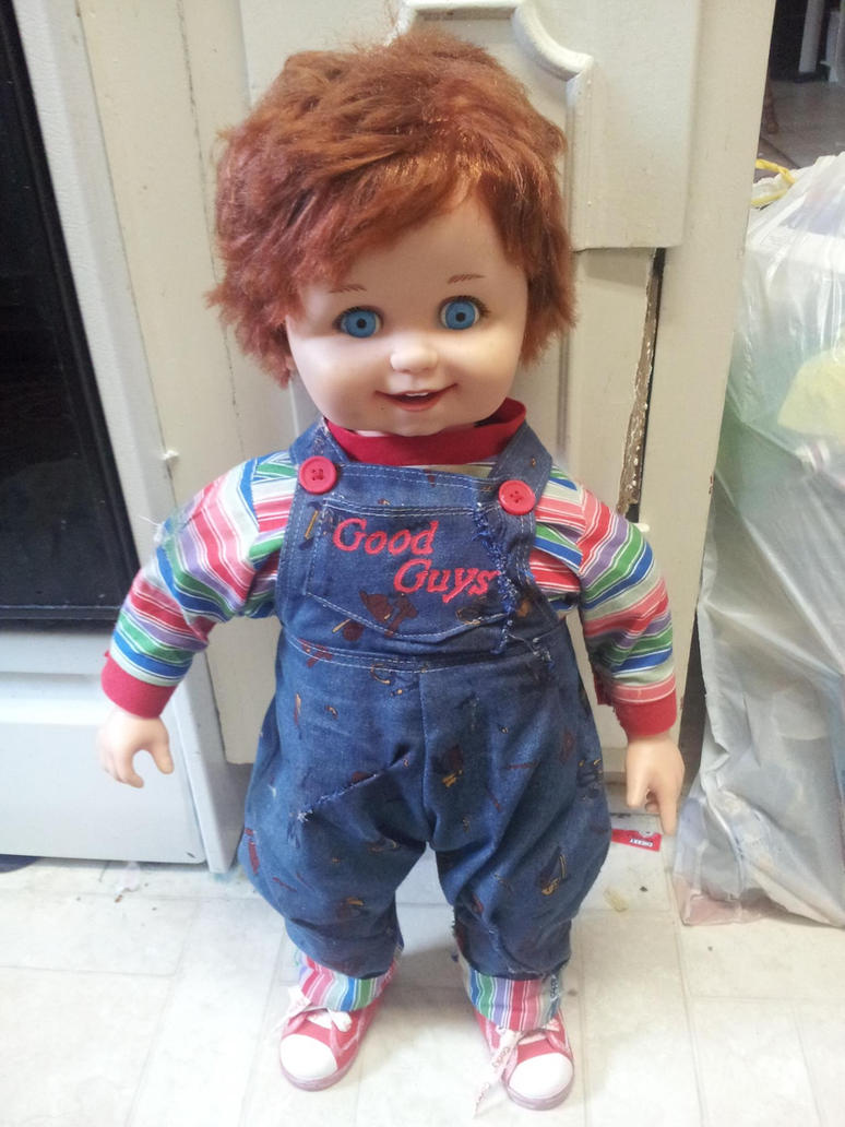 Good Guys Overalls Made Into a Good Guy Doll