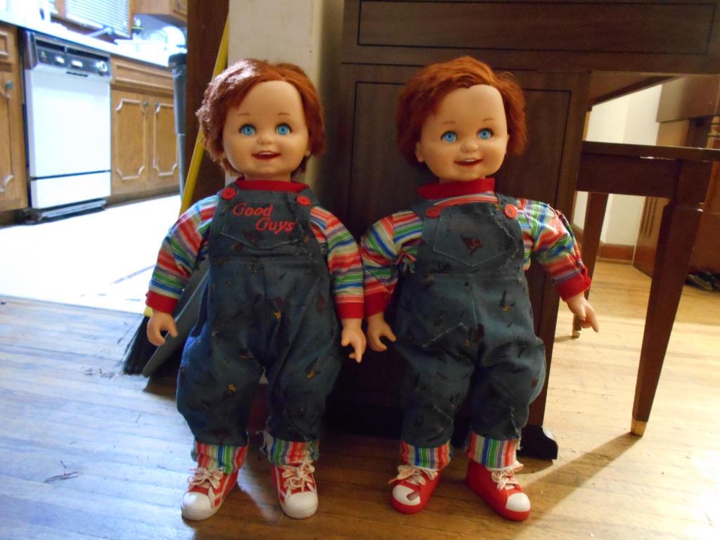 My two custom corky chucky good guy dolls by creepydjeffrey on my two custom corky chucky good guy dolls by creepydjeffrey ccuart Choice Image