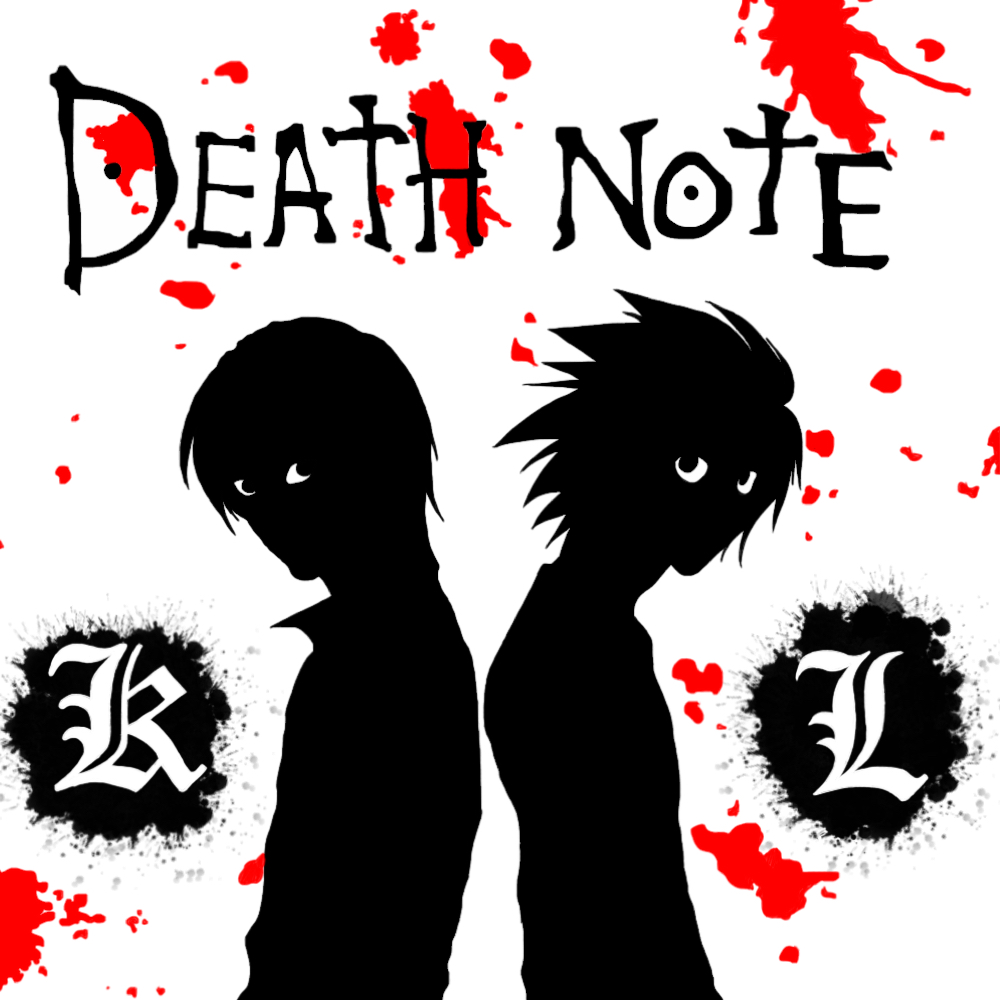 L and Light Wallpaper- Death Note by FoxNinja18 on DeviantArt