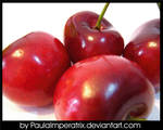 Cherry Apples? by PaulaImperatrix