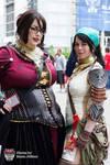 Dragon Age Morrigan and Isabela
