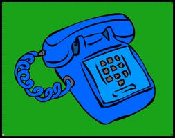 Blue Phone by infopablo00