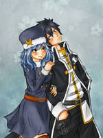 Gray x Juvia by Chengggg