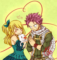 Nalu - Take care of her for me. by Chengggg
