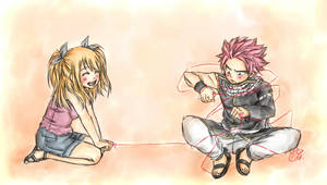 Nalu Week - He came to me, just like a present! by Chengggg