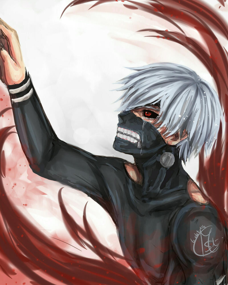 Kaneki Ken -  There's nothing left but despair.. by Chengggg
