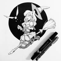 Quidditch by jordanwalkerartist