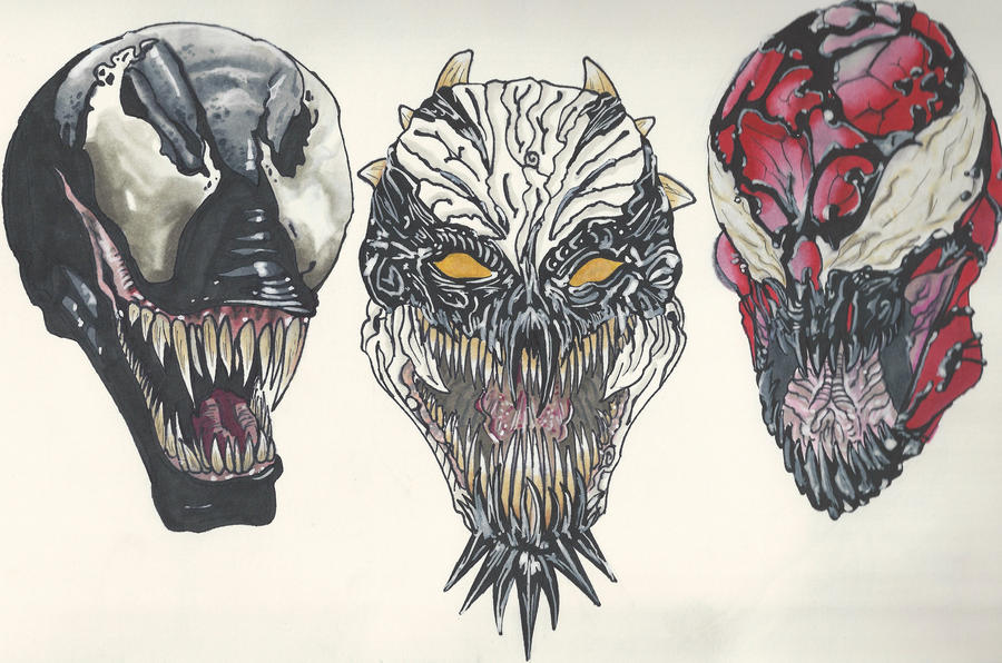 Symbiotes by Cale-DV on DeviantArt