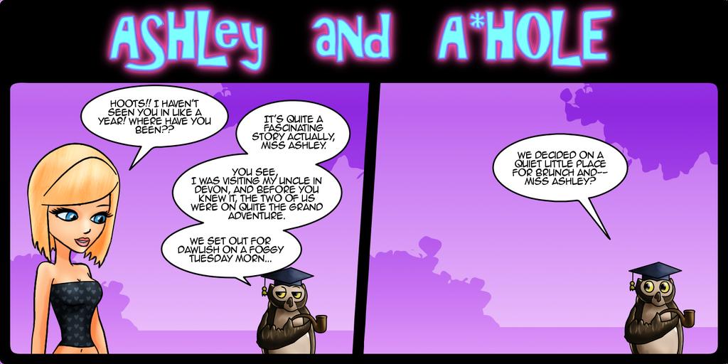 Ashley and A*Hole #83 by Ashleykat
