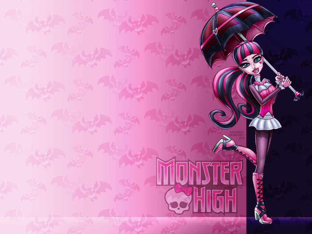 Monster High Draculaura Desktop Computer Wallpaper By