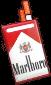 Profile Badge: Cigarettes: Marlboro Red 100s by Ashleykat