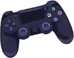 Profile Badge: Game Controller: Playstation 4 by Ashleykat