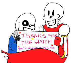 Thanks For The Watch!