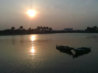 Nile River Banks by darkokaa