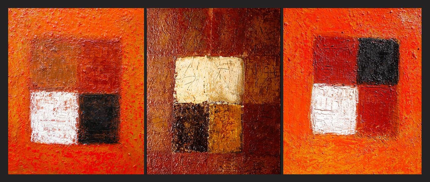 Knighthood triptych by comteskyee