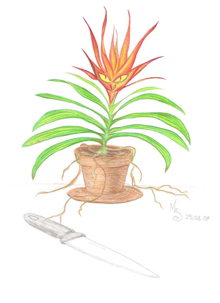 Plant conspiracy by MariSkullerud