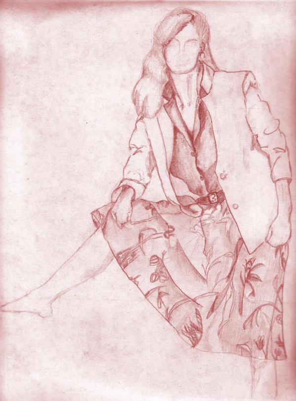 Fashion Model by LTerri