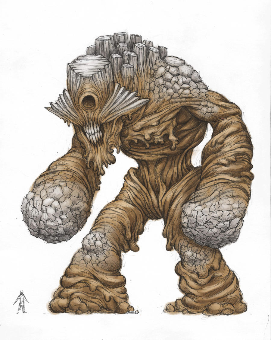 Earth Colossus: The Cyclops by ECTmonster
