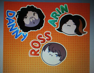 Game Grumps Badges/Stickers