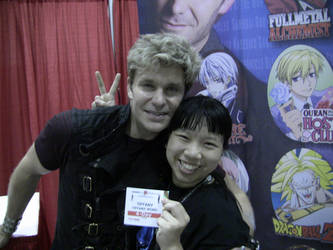 AX11 1 - Me and Vic Mignogna by lonegamer7