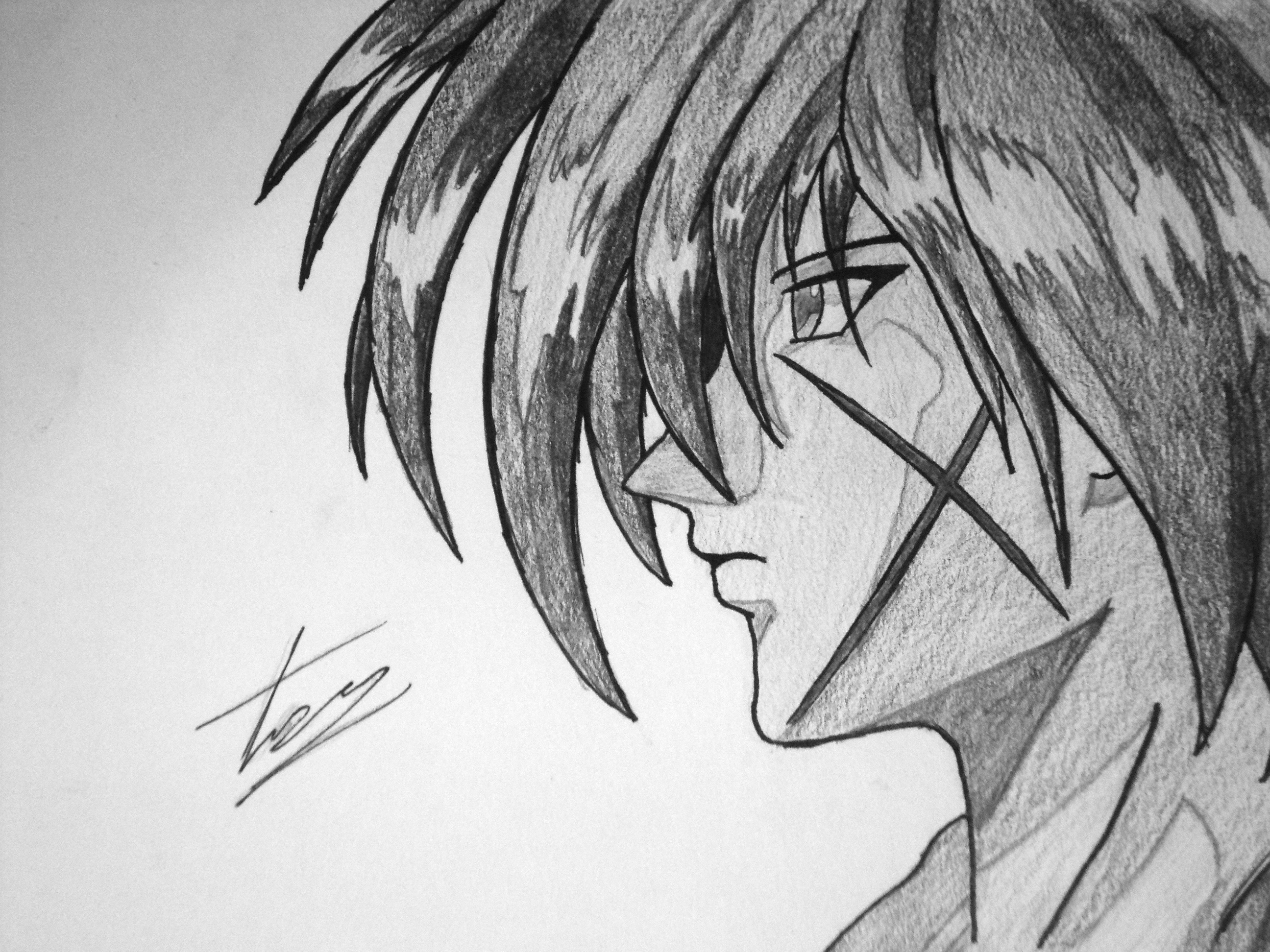 Request Kenshin Himura By EckoSlime